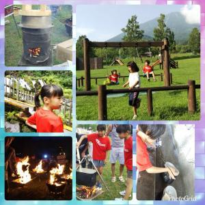 学童キャンプ&恒例夏まつり