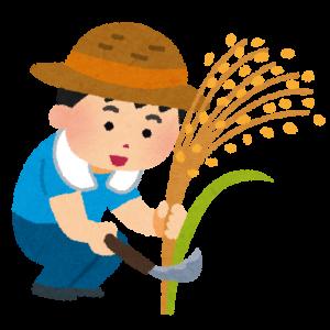 蒔いた種を刈りとる