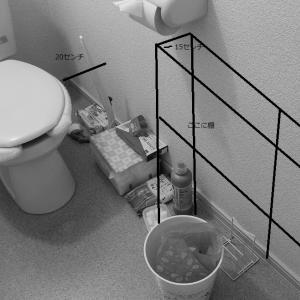 臆病者のミニマリストデビューへの道ーついに汚トイレの棚購入ー