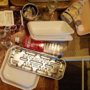 こまめなリサイクル&ダイエット晩御飯