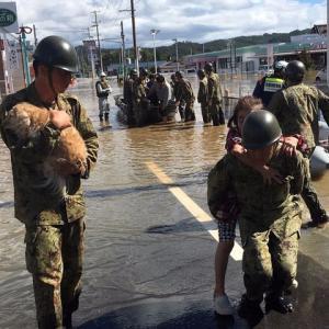 台風19号が各地に甚大な被害 今年最大規模の自衛隊災害派遣。