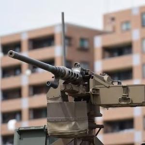 自衛隊でも重宝の12.7mm重機関銃