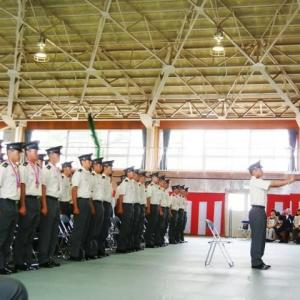 6月末に福岡屯地でも自衛官候補生修了式