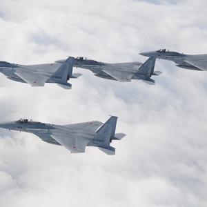 対中国機に対し、即時に那覇基地から緊急発進