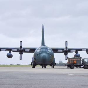 アフガニスタンに輸送機派遣