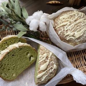 冬模様のパン