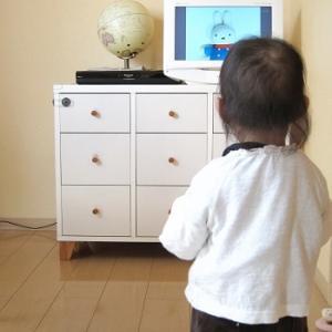 リビング学習にも最適!リビングにテレビがないと、気持ちにも空間にも余裕ができる!