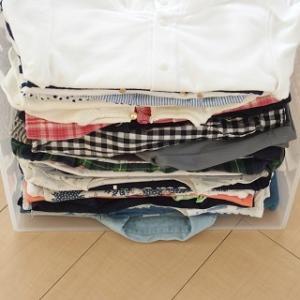 【衣替え】季節外の子ども服をたくさん収納する方法