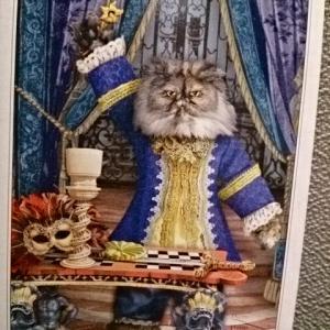 やっぱり猫が好き♪今日の猫様のお言葉「魔術師」:2021/5/4