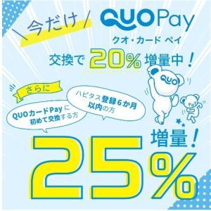 【25%増量】最大3万円増量するBIGなキャンペーン!!!