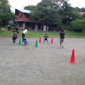 7月13日開催しました♪ 親子で楽しむサッカー教室@横浜市青葉区