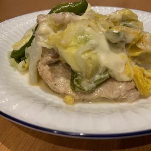 【コラム掲載】たべぷろ様*白菜と豚肉のチーズ蒸し