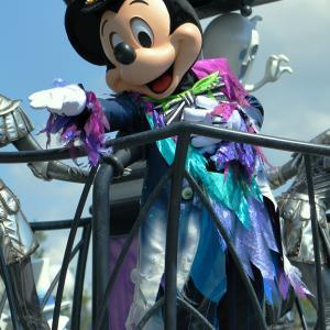 """(^ ^♪スプーキー""""Boo!""""パレード ミッキー"""