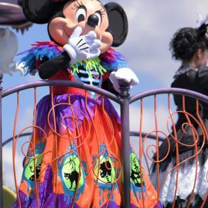 """(^ ^♪スプーキー""""Boo!""""パレード ミニーちゃん"""