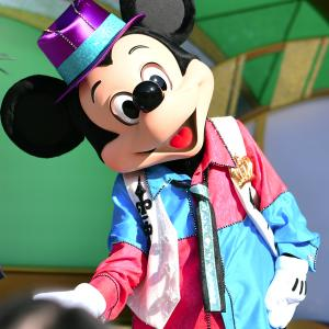 (^ ^♪Let's Party Gras! ミッキー