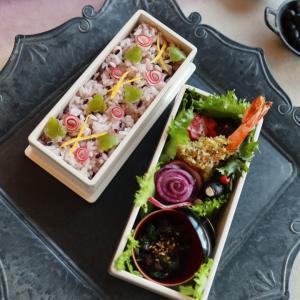 赤カブさんのお花畑ご飯のお弁当