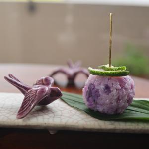 紫キャベツご飯