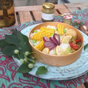 カジキマグロは茅の舎の柚子味噌にマヨネーズを混ぜたソースで召し上がれ