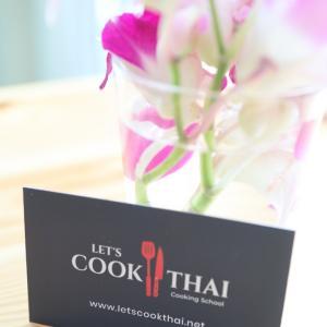 パタヤにてタイ料理を習いました