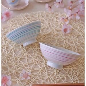 ◆ろくろ線で仕上げたペアお茶碗◆