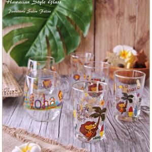 ◆ハワイアングラスを作りました◆