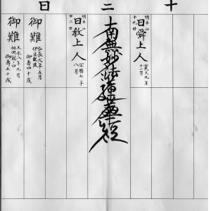 日蓮正宗の過去帖から解る宗義「楠板本尊」の嘘 3