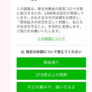 LINE×厚生労働省のアンケート