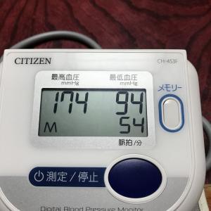 5月23日(木)の発電実績。血圧が高いのは老化?