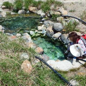 野湯探検 2016春 湯俣温泉