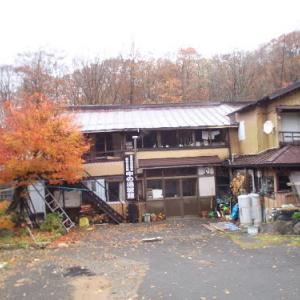 2016.11月 福島湯めぐりブラブラ 秋なのに初雪体験