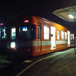 岳南電車の夜景🌃🌉✨列車に乗り鉄【2】