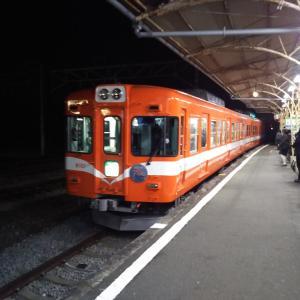 岳南電車の夜景🌃🌉✨列車に乗り鉄【1】