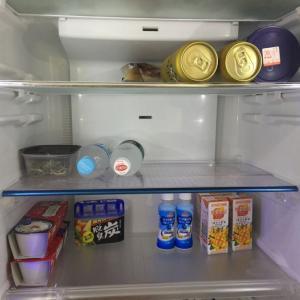 韓国から帰ってきた時の冷蔵庫の中身