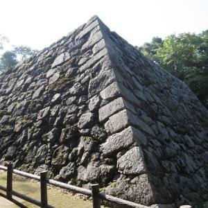 岩国の旅(26)岩国城跡旧天守台