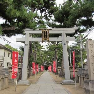 有岡城の岸の砦 猪名野神社