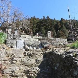 渋川「井伊家墓所」の井伊直親の墓