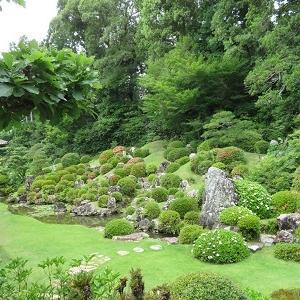 井伊谷の龍潭寺(8)小堀遠州作の名勝庭園