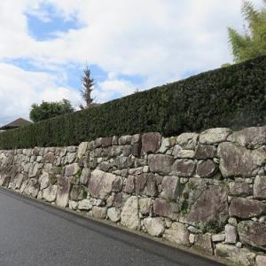 盛安寺(1)穴太積の石垣