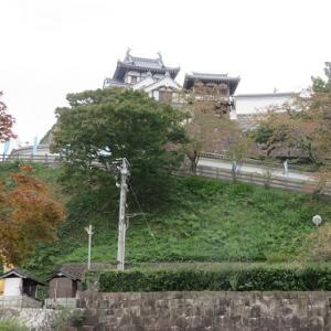 福知山の旅(2)福知山城「昇龍橋~本丸広場」
