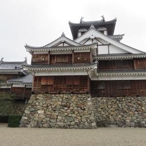 福知山の旅(3)福知山城の天守と石垣
