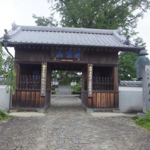2020年7月・第5番・地蔵寺にて、夏っぽさに溢れた境内を歩く。