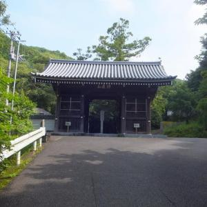 2020年7月・第10番・切幡寺にて、また境内独占の参拝。