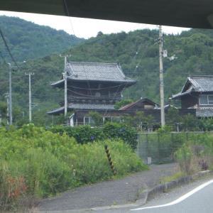 2020年7月・第8番・熊谷寺にて、いい天候の中歩けたことに感謝。