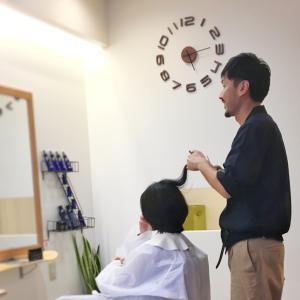 美容師+お客さん=素敵なヘアスタイル