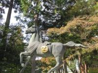胡宮神社(3) 「旧敏満寺跡 古井戸と焼石の塚」