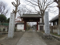 深谷の清心寺(1)平忠度ゆかりの寺