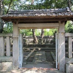 岡崎めぐり(8)大樹寺 松平八代墓
