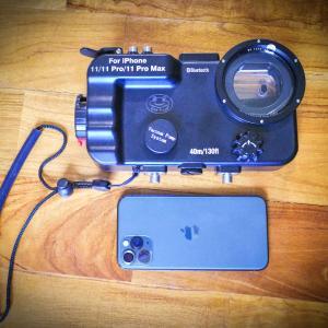 格安iPhone用ダイビング防水ハウジングケース