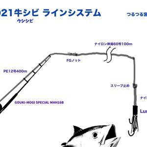 ウシシビへの道2021:タックル(3)ラインシステム