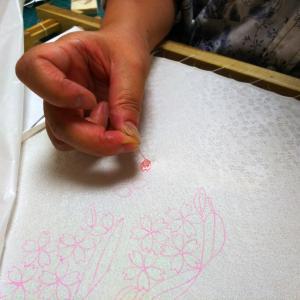木曜日本刺繍